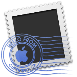 Apple Mail Stamp Icon Png Clipart Image Iconbug Com