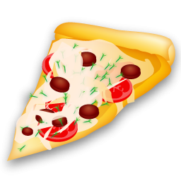 slice of pizza icon png clipart image iconbug com rh iconbug com slice of pizza clipart black and white Pizza Slice Drawing