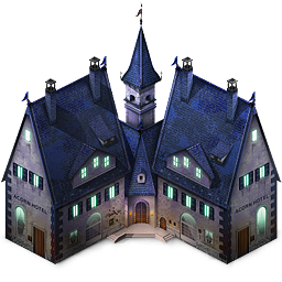 Haunted House Icon Png Clipart Image Iconbug Com