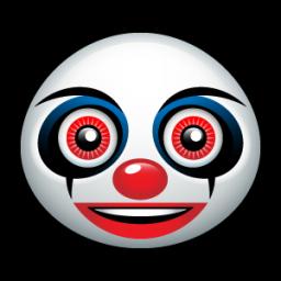 Clown Face Icon Png Clipart Image Iconbug Com