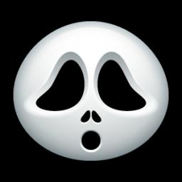 Cute Scream Mask Icon Png Clipart Image Iconbug Com