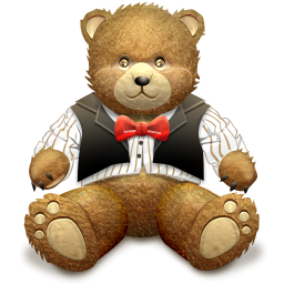 Brown Teddy Bear Icon Png Clipart Image Iconbug Com