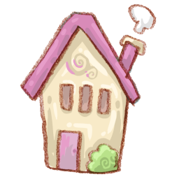 Pink House Drawing Icon Png Clipart Image Iconbug Com