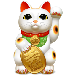 Lucky Cat 2 Icon Png Clipart Image Iconbug Com