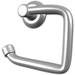 Toilet Roll Holder Icon PNG ClipArt Image