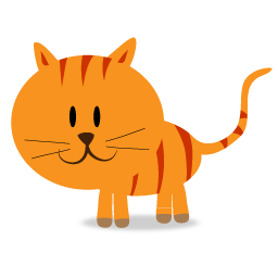 Happy Kitty Cat Icon Png Clipart Image Iconbug Com