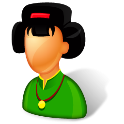 Asian Lady Boss Icon Png Clipart Image Iconbug Com