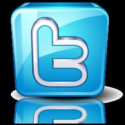 logo twitter 3d png