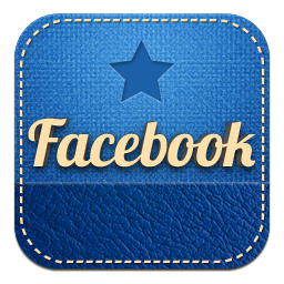 logo facebook retro