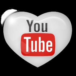 Bildergebnis für youtube heart logo
