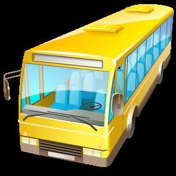 Transportation Bus Icon Png Clipart Image Iconbug Com