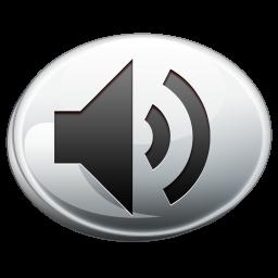 Sound Silver Icon Png Clipart Image Iconbug Com
