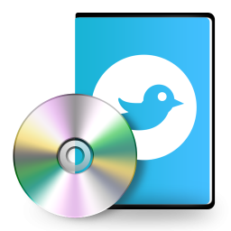 Twitter Cd Dvd Icon Png Clipart Image Iconbug Com