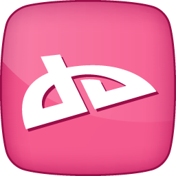 Pink Deviantart Icon Png Clipart Image Iconbug Com
