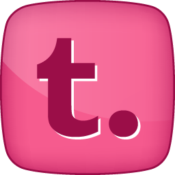 Pink Tumblr Hover Icon Png Clipart Image Iconbug Com