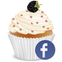 Facebook Cup Cake Icon Png Clipart Image Iconbug Com