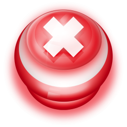 Red Button Cancel Icon Png Clipart Image Iconbug Com