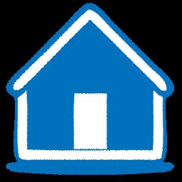 Blue Sketch Home Icon Png Clipart Image Iconbug Com