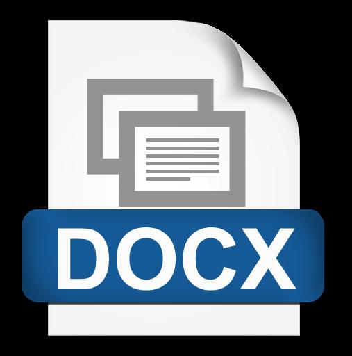 File Format Docx Icon, PNG ClipArt Image | IconBug com