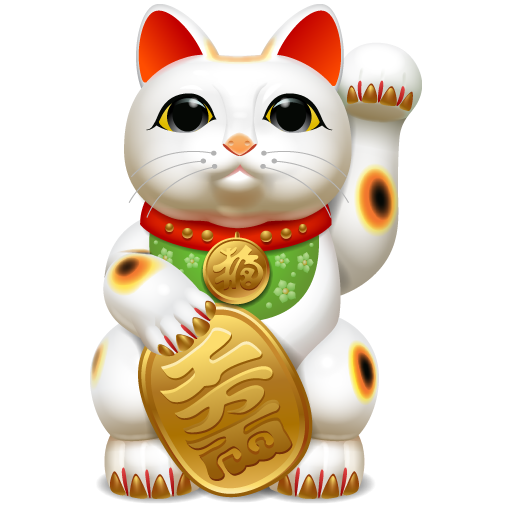 Japanese Lucky Cat Wallpaper - WallpaperSafari