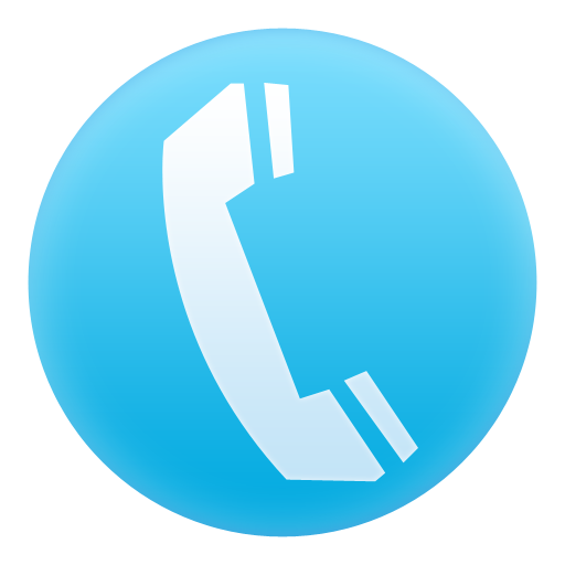 Image result for blue phone icon png